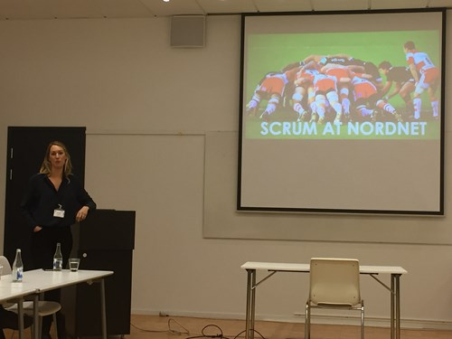 Scrum at Nordnet with Anna Persson